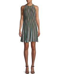 M Missoni - Bubble Knit Halter-neck Dress - Lyst
