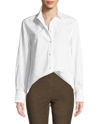 Vince - Classic Long-sleeve Button-down Shirt - Lyst