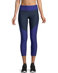 Under Armour - Balance Colorblock Cropped Leggings - Lyst