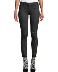 DL1961 Margaux Instasculpt Ankle Skinny Jeans With Raw Hem