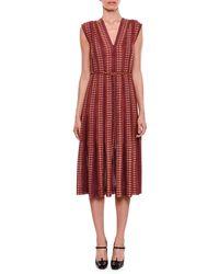 Bottega Veneta - Cap-sleeve Chenille Knit Dress - Lyst