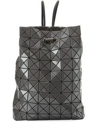 Bao Bao Issey Miyake - Wring Faux-leather Prism Backpack - Lyst b0a1311756fbc