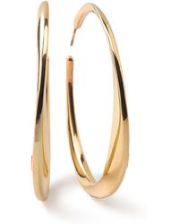 Ippolita - 18k Glamazon Heavy Bottom Large Hoop Earrings - Lyst
