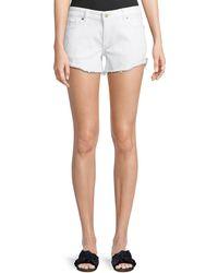 DL1961 - Karlie Low-rise Boyfriend Shorts - Lyst
