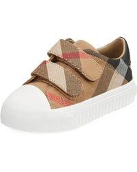 Burberry - Belside Check Sneaker - Lyst