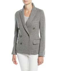 Ralph Lauren Collection - Camden Double-breasted Cashmere Jacket (unconstructed) - Lyst