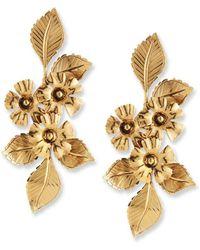 Jennifer Behr - Cynthia Flower Drop Earrings - Lyst