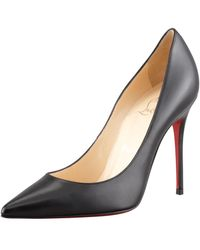 new concept b1232 b54e1 Christian Louboutin Apostrophy Pointed Red-sole Pump in ...
