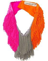 Mignonne Gavigan - Le Marcel Colorblock Scarf Necklace - Lyst