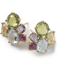 Ippolita - 18k Rock Candy Cluster Earrings - Lyst