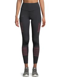 Under Armour - Ua Storm Accelerate Reflective Full-length Leggings - Lyst