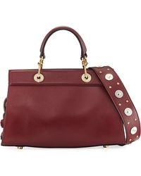 Altuzarra - Infinity Small Smooth Studded Leather Tote Bag - Lyst