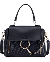 Chloé - Faye Day Small Quilted Leather Shoulder Bag - Lyst