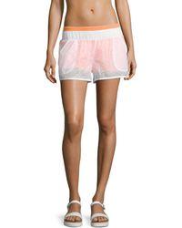 Alo Yoga - Transparent Running Shorts - Lyst