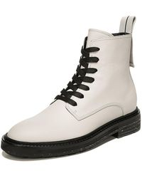 Via Spiga - Kinley Lace-up Combat Boots - Lyst