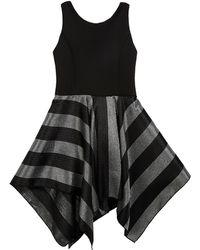 92ed1d41830 RACHEL Rachel Roy Presley Metallic Cutout Sweater Dress in Black - Lyst