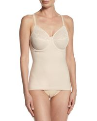 Wacoal - Visual Effects Shaping Camisole With Built-in Full Coverage Bra - Lyst