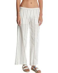Onia - Mila Striped Wide-leg Coverup Pants - Lyst