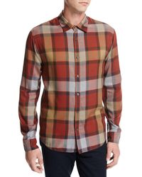 Vince - Buffalo Plaid Sport Shirt - Lyst