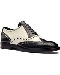 Dior - Unit Perforated Matte Calfskin Leather Oxford - Lyst