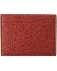 Giorgio Armani - Cervo Leather Credit Card Holder - Lyst