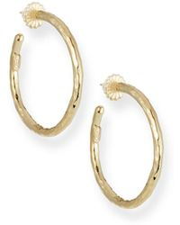 Ippolita - Glamazon 18k Gold #3 Hoop Earrings - Lyst