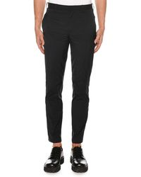 Neil Barrett - Men's Straight-leg Skinny Travel Trousers - Lyst