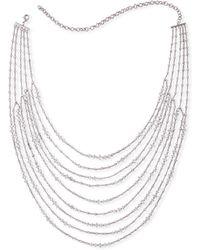 Fallon - Marquis Multi-strand Necklace - Lyst