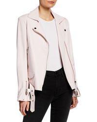 Nour Hammour - Republique Leather Jacket - Lyst