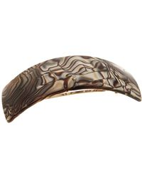 France Luxe - Rectangle Volume Barrette - Lyst