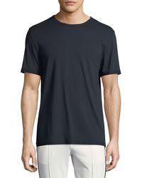 Vince - Reverse-hem Jersey T-shirt - Lyst