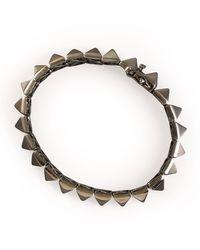 Eddie Borgo | Pyramid Bracelet | Lyst