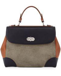 Ralph Lauren - Tiffin 29 Colorblock Top Handle Bag - Lyst