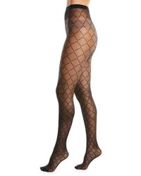 Wolford - Dot Semisheer Tights - Lyst