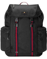 5ec7b000ab Gucci - Black Medium Technical Backpack - Lyst