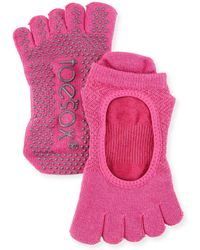 ToeSox - Bellarina Ruby Grip Full Toe Athletic Socks - Lyst