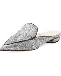 Nicholas Kirkwood - Beya Woven Flat Loafer Mule - Lyst