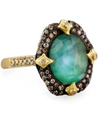 Armenta - Old World Pavé Crivelli Ring With Diamonds - Lyst