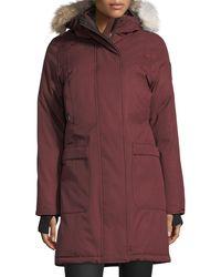 Nobis - Meredith Coat With Fur Hood - Lyst