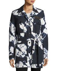 Figue - Tie-dye Safari Jacket - Lyst