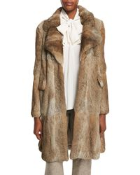 Co. - Mid-length Rabbit Fur At - Lyst