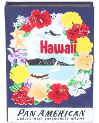 Olympia Le-Tan - Voyages Hawaii Book Clutch Bag - Lyst