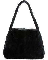 Miu Miu - Rabbit Fur Hobo Bag - Lyst