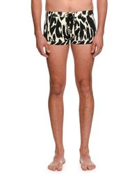 b0c70fd2e7 Tom Ford - Graphic-print Tiny Swim Shorts - Lyst