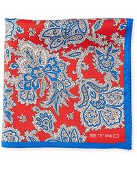 Etro - Pochette Jamul Silk Pocket Square - Lyst