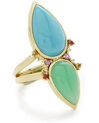 Ippolita - Prisma Dots Double-stone Ring In Portofino - Lyst
