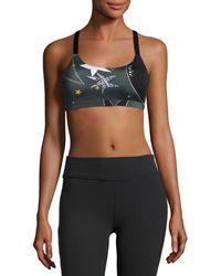 Beyond Yoga - Lux Triple Strap Sports Bra - Lyst