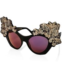 Anna Karin Karlsson - The Butterfly Mirrored Sunglasses - Lyst