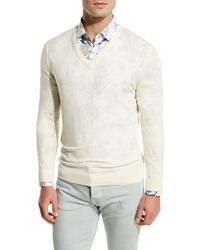 Kiton - Fine-gauge V-neck Sweater - Lyst