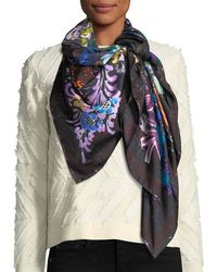 Jane Carr - The Découpage Silk Twill Square Scarf - Lyst